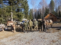 Inter-agency anti-poaching brigade conducted raids in the Altai Republic